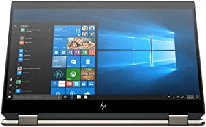 2019 HP Spectre x360 15t Touch 4K IPS AMOLED GTX 1650 2-in-1 with 6 core 9th Gen Intel i7 9750H, 1TB SSD, 16GB, 3 Years McAfee Security Key,Windows 10 PRO Upgrade, Worldwide Warranty (Poseidon Blue)