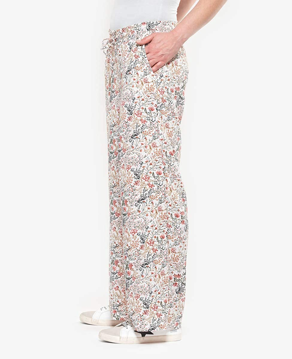Le Temps des Cerises Trousers Large Tupy Off-White Vanilla