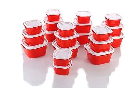 Buy MR 20 Pc Plastic Kitchen Storage box Container Set Plastic