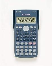 Calculadora Científica 240 Funções Casio, Azul