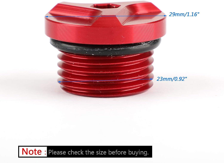 Areyourshop Bouchon de remplissage dhuile moteur CNC en aluminium pour B-M-W S1000RR S1000R S1000XR G310GS 2009-2018
