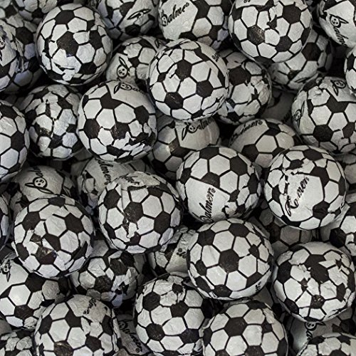 Milk Chocolate Soccer Balls 5lb (Free Cold Pack) ()