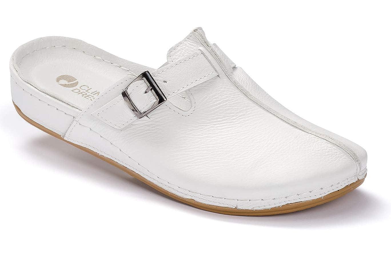 cb4ec1078fbd4f CLINIC DRESS Leder Clogs Fußbett Arbeitsschuhe Arzt Klinik Schuhe  Arbeitsschuhe (38 EU)  Amazon.de  Schuhe   Handtaschen