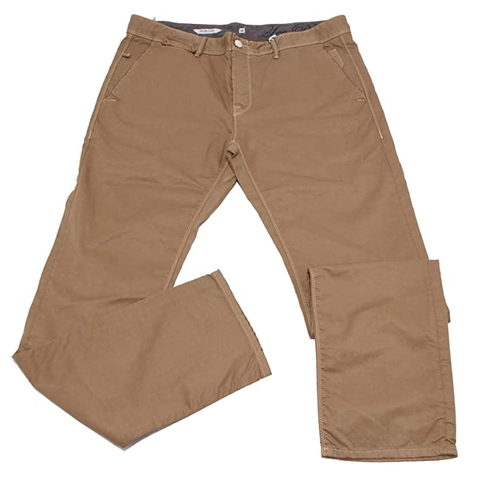 JECKERSON 0440K Pantalone Uomo Gabardine Light Brown Camel