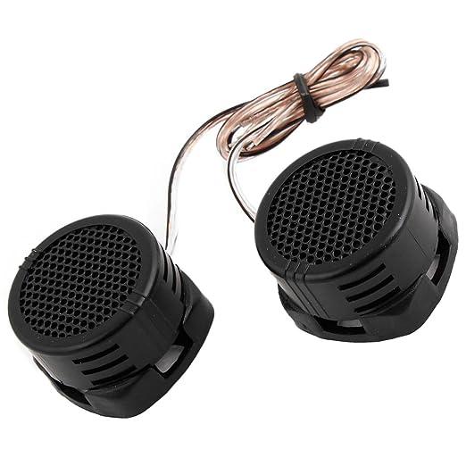 2 Stueck Konfektionierter Dome Audio System Hochtoener Lautsprecher 500W fuer Autos R TOOGOO Lautsprecher