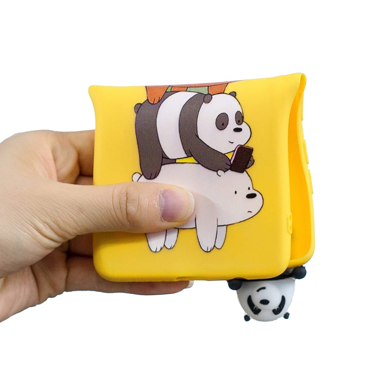 Unicornio Verde HopMore Divertidas Funda para Samsung Galaxy A10 2019 Silicona Dibujo 3D Panda Animal Carcasa TPU Gel Ultrafina Slim Case Antigolpes Caso Protecci/ón Cover Design Gracioso