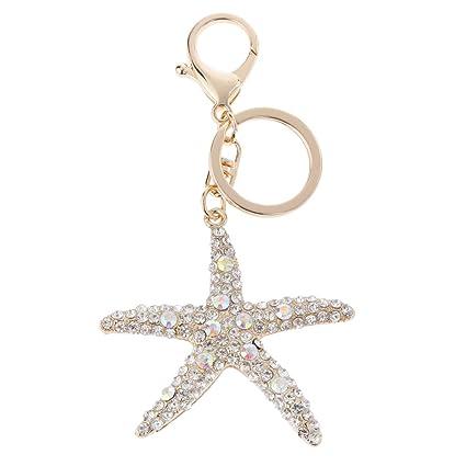Brillante Aleacion Colgante De Diamantes De Imitacion Estrellas De