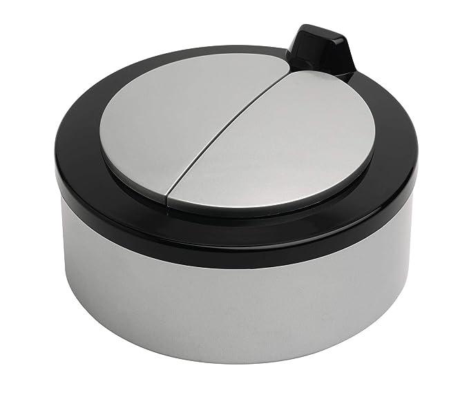 Cubo de la basura AutoBin con sensor de movimientos, automático, estilo único, ideal para cocinas y baños, plástico, negro, 2 L: Amazon.es: Hogar