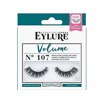 c651753485f Eylure Strip Lashes No.107 (Volume): Amazon.co.uk: Beauty