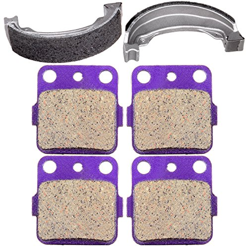 - SCITOO Brake Pads and Brake Shoes Kits Fit for 01 02 03 04 05 06 07 08 Honda Sportrax 09 11 12 13 14 Honda TRX250X
