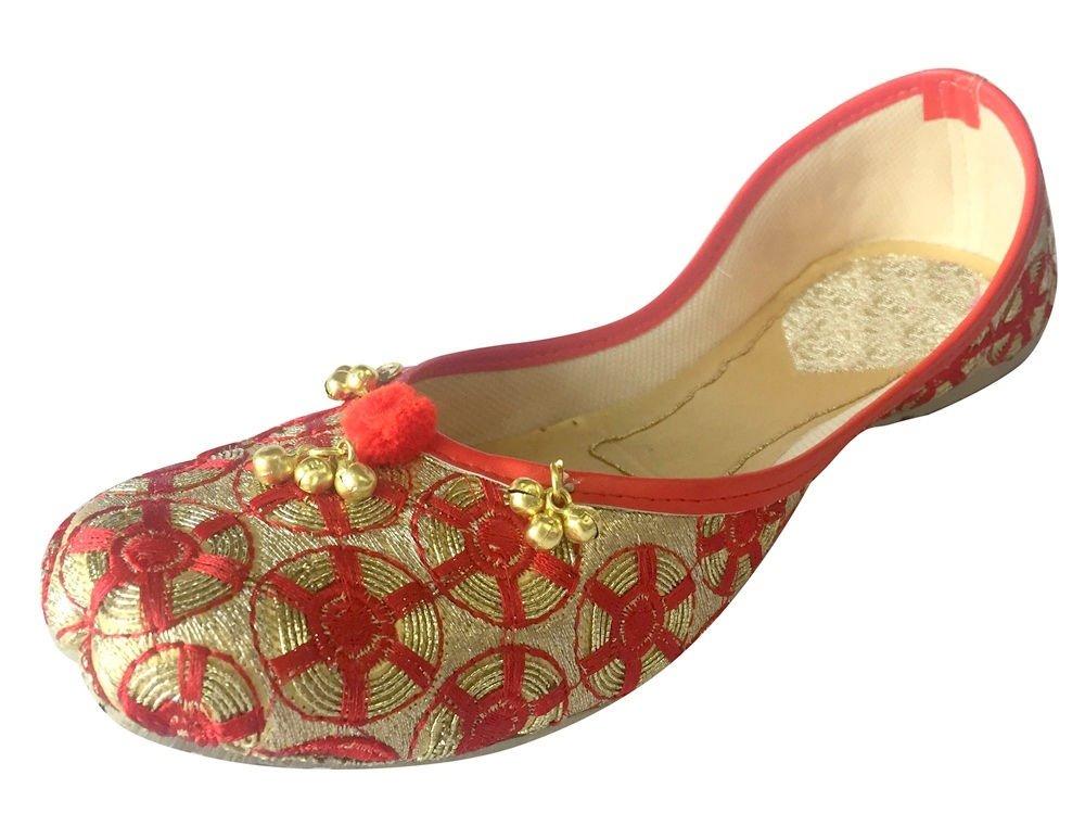 Step n Style Shoes Mojari Khussa Designer Shoes Flat Shoes Punjabi Jutti Flip Flop DD545