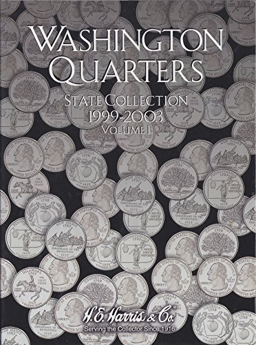 1999 2000 State Quarter - Harris Coin Folder - State Series Quarters Folders Vol I 1999-2003 #8HRS2580