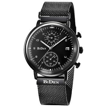 ♚Seven Relojes para Hombres Relojes De Cuarzo para Empresas Marca De Lujo para Hombre Reloj Deportivo para Mujer Fecha Reloj Correa De Acero Inoxidable ...