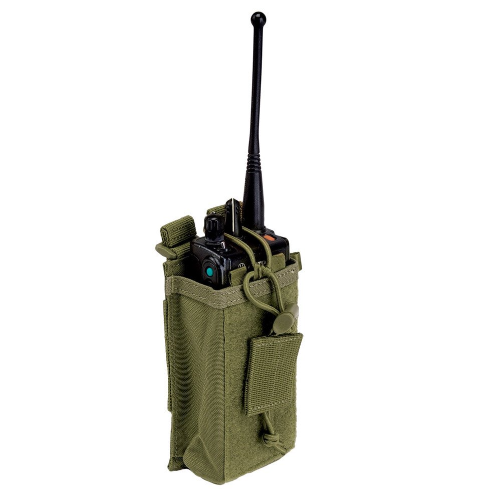 5.11 Radio Pouch Compatible with 5.11 Bags/Packs/Duffels, Style 58718, TAC OD by 5.11