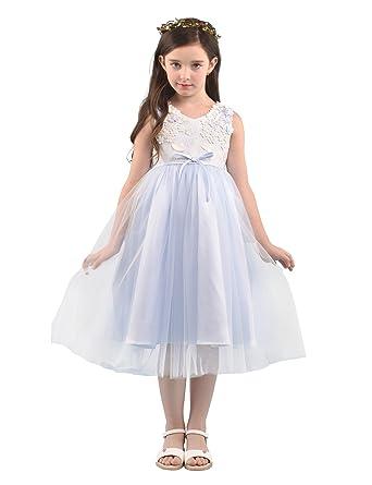 Alicepub Alicepub Prinzessin Blumenmädchenkleid Hochzeit Partei ...