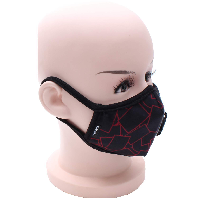 Vogmask | Chakra N99 - Mascara Antipolucion con filtro de carbon activado - Pequeñ a (S - 11-22 kg)
