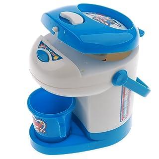 B Blesiya Giocattolo Simulazione Elettrodomestici Miniatura Erogazione Acqua Cucina Accessori Plastica Blu