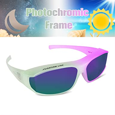 GARDOM Cycling Glasses Photochromic Sunglasses for Men Women UV Protection Lens