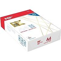 MP - Papel Multiusos A4 de 80gm para Impresión y Copia | 1 Paquete - 500 Hojas Blancas A4
