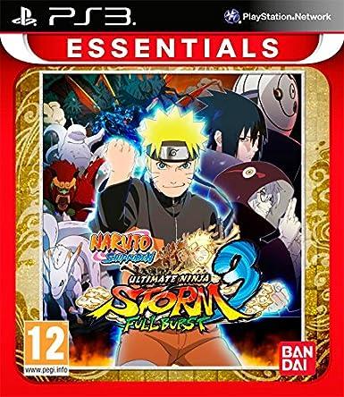 Naruto Shippuden: Ultimate Ninja Storm 3 Full Burst - Essentials ...