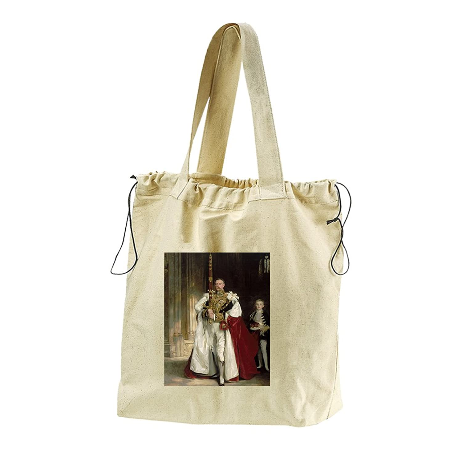 Sixth Marquess Of Londonderry (Sargent) Canvas Drawstring Beach Tote Bag