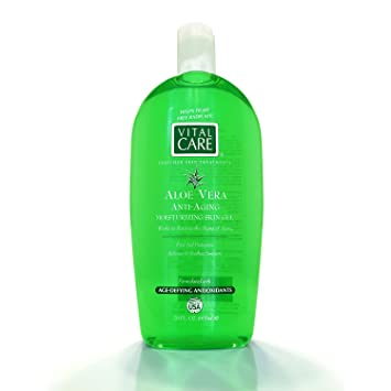 Key Brands Vital Care Enriched Skin Treatments Aloe Vera Anti Aging Moisturizing Skin Gel First Aid Protection Relieves Soothes Sunburn Amazon In Beauty