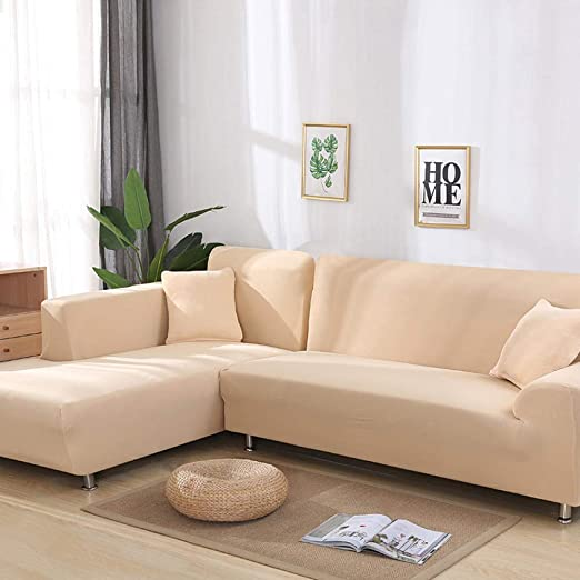 FENFANGAN Fundas Sofa Ajustables 2 Pcs Covers For Corner ...