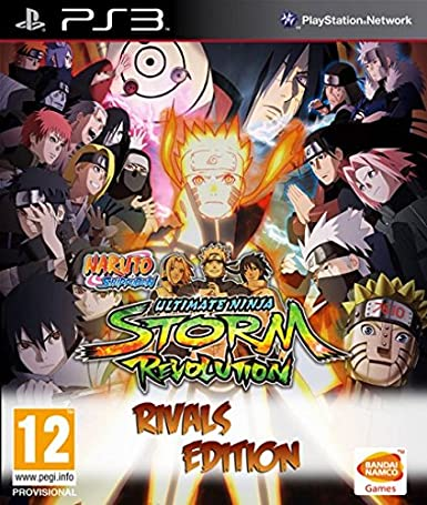 Naruto Shippuden: Ultimate Ninja. Storm Revolution - Rivals Edition: Amazon.es: Videojuegos