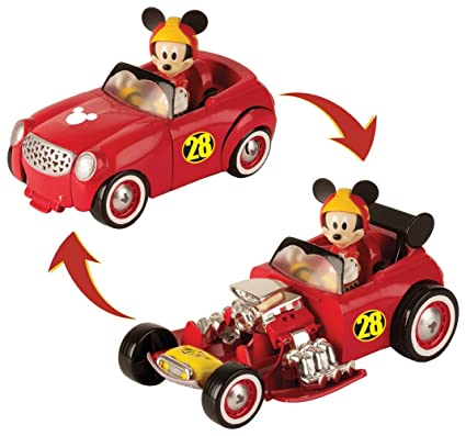 Mickey Mouse-182813 TRANSFORMABLE DOGGIN Hot Road, Propio 182813