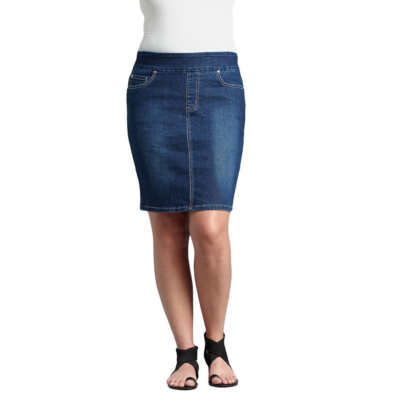 Golden Girls Medium Blue Stretch Denim Skirt