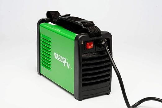 Varan Motors var-mma200 Máquina de soldar por arco eléctrico portátil MMA Varan arc-200 inverter+ 2 conectadores rápidos: Amazon.es: Bricolaje y ...