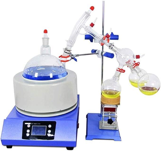 NSDFG Experimento químico Dedicado Heat Escala Destilación Equipo 5 Liter Laboratorio a Corto Intervalo de ...