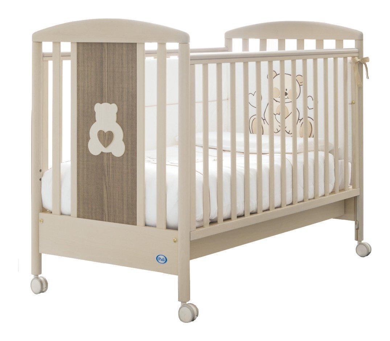 Kinderbett Pali Gaia weiß glänzend Rover Gri 024700