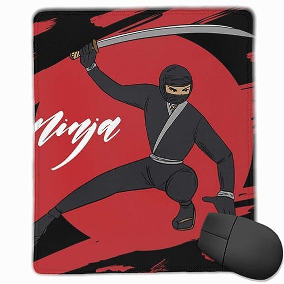 Amazon.com: Ninja Warrior Background Rectangle Non-Slip ...