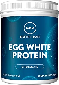 MRM Natural Egg White Protein Powder - Chocolate - 12oz