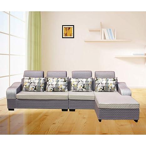 MIKEWEI Salón De Estilo Simple Y Moderno Sofá Lavable con ...