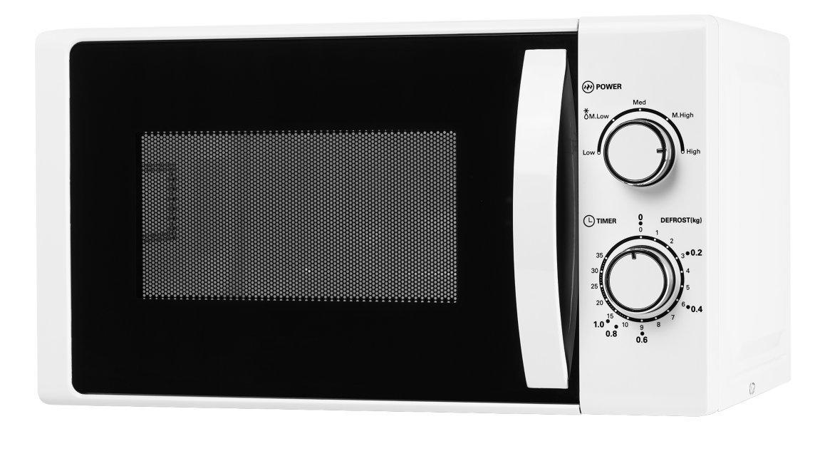 MEDION MD 16945 Mikrowelle Timer/lackiertes Metallgehuse/wei 5 ...
