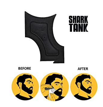 photo regarding Beard Shaping Template Printable titled The Lower Friend As Found Upon Shark Tank - Several Curve Slender Shaping Expert for Hairline, Beard, Goatee, Mustache, Neck, Sideburn