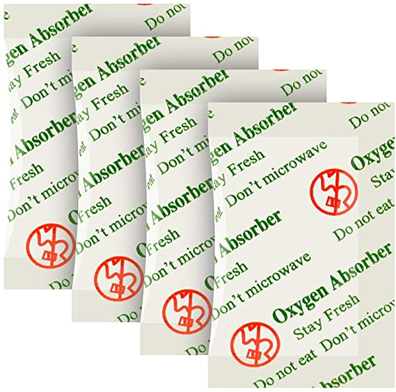 Dried Food Storage 50cc Oxygen Absorbers 50 per pack O2 Out
