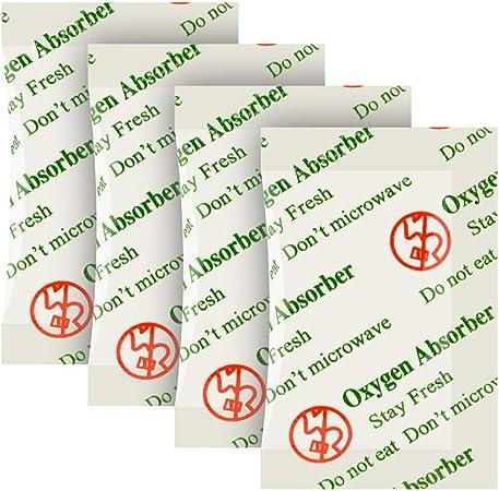 300-Pack O2frepak 20CC Approuv/é par LA FDA Anti Huile Absorbeurs Doxyg/ène Paquets pour Le Stockage des Aliments