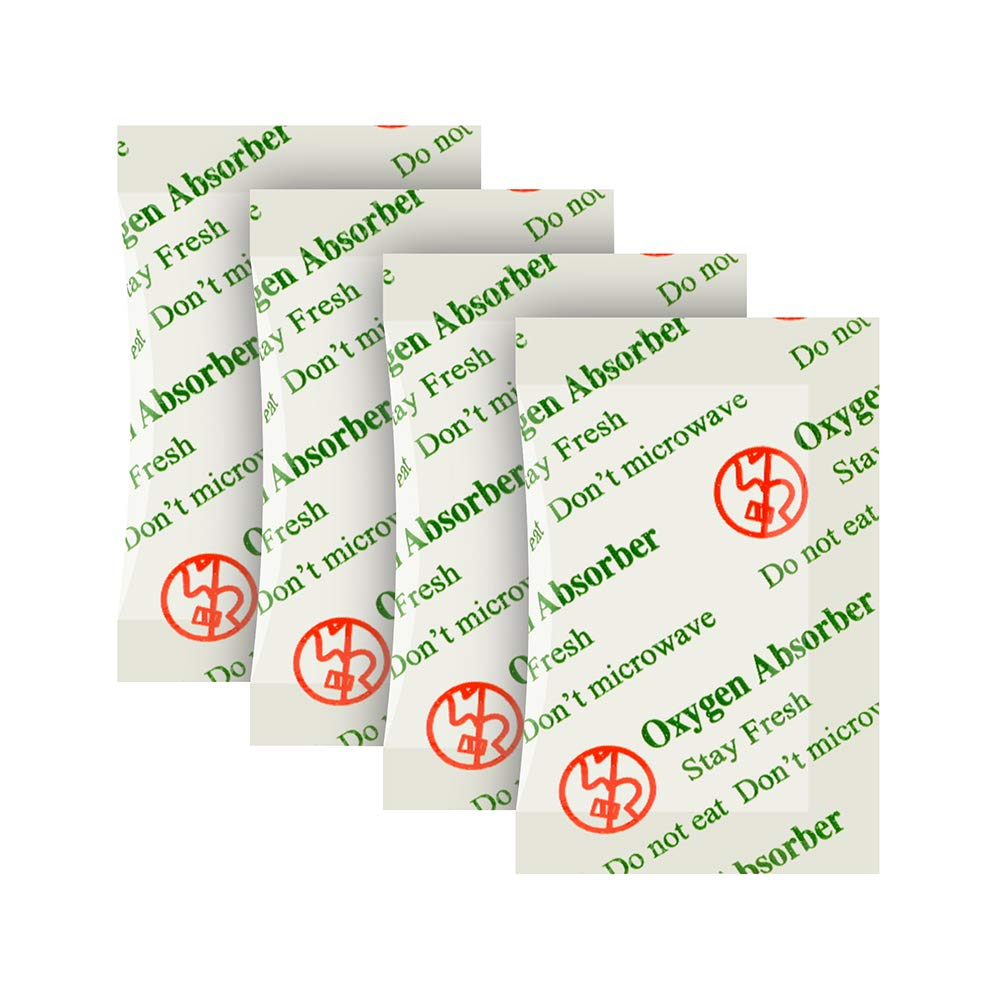 200CC(100-Pack) FDA Approved Anti Oil Oxygen Absorbers Packets For Food Storage