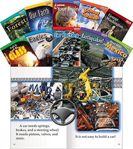 Teacher Created Materials - TIME for Kids Informational Text: Set 1 - 10 Book Set - Grade 2 - Guided Reading Level I - M