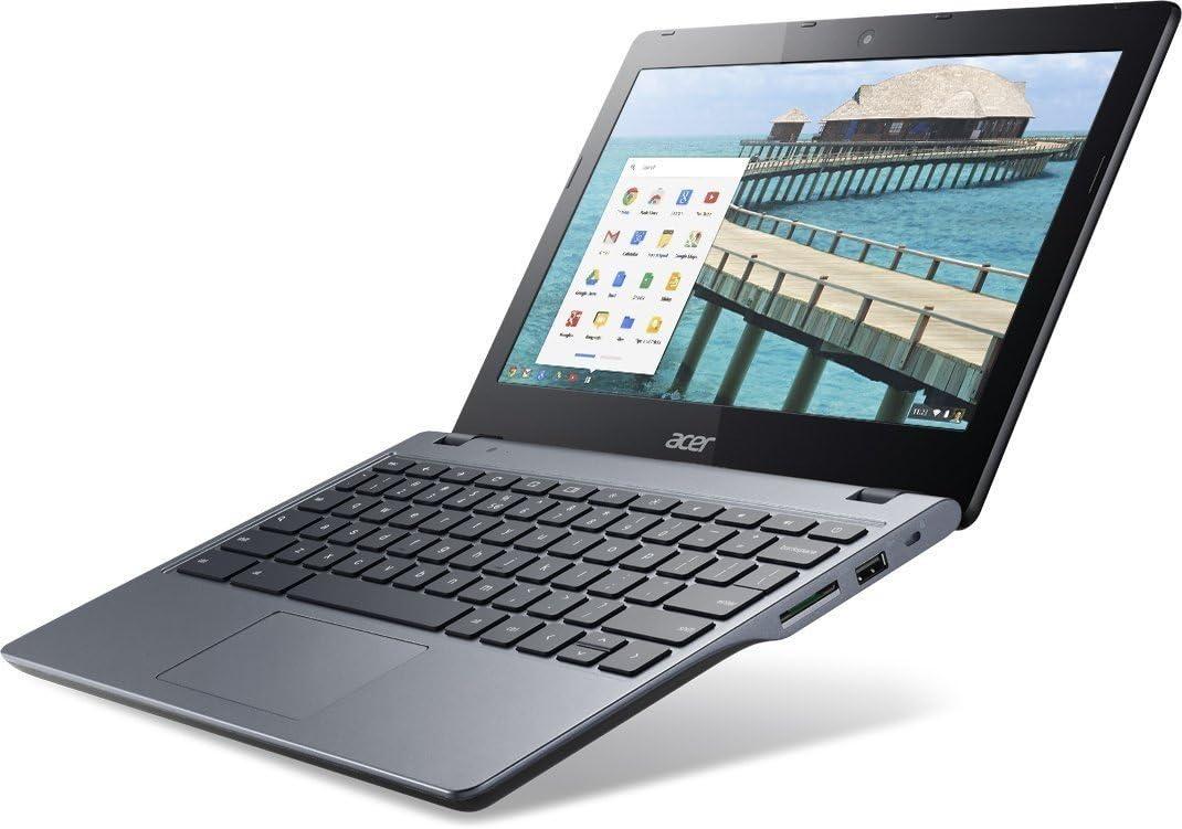 "Acer NX.SHEAA.002 / C720-29552G01aii 11.6"" LED (ComfyView) Chromebook - Intel Celeron 2955U Dual-core (2 Core) 1.40 GHz - Granite Gray"