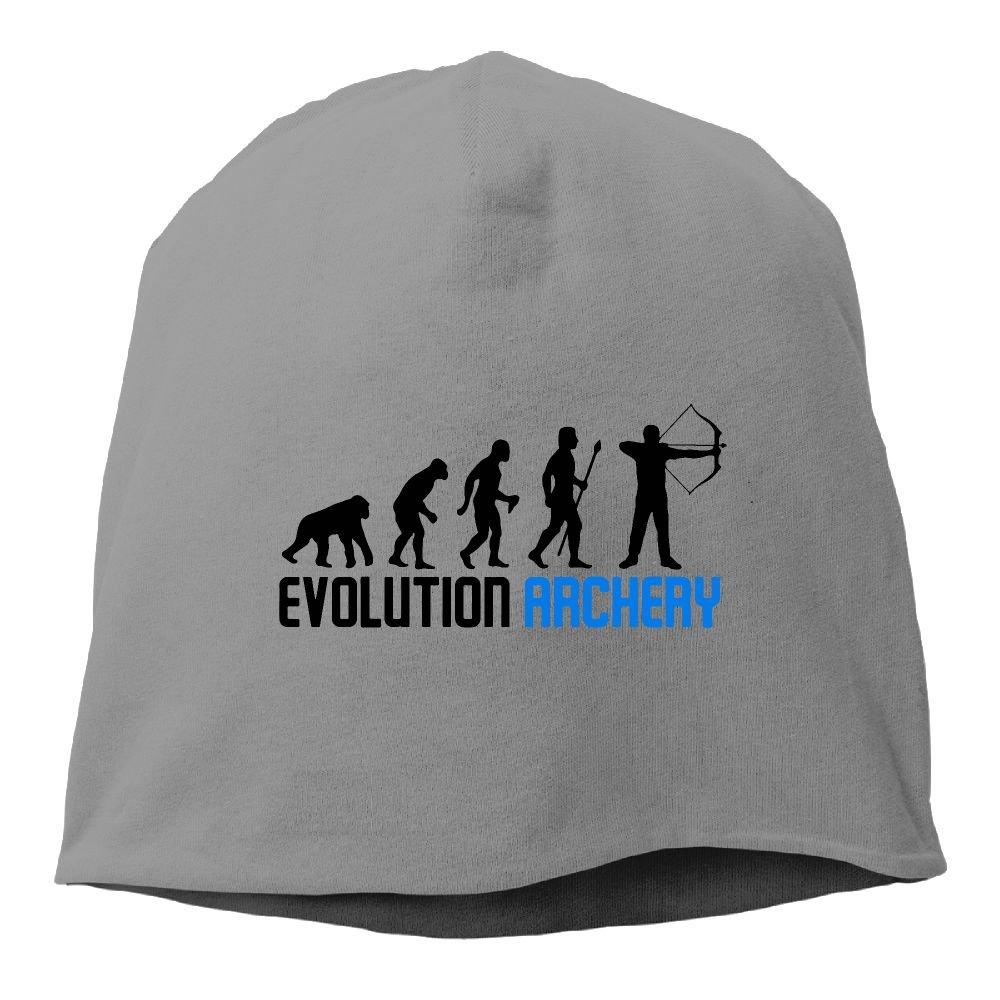 Archery Evolution Unisex Knit Hat Soft Stretch Beanies Skull Cap Hedging Cap Red