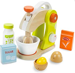 Wooden Mixer Set - 7 Assorted Pieces!