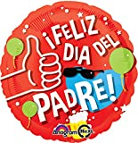 Father's Day Party Balloons Value Pack. 5x Pieces Mylar Balloons by 99 Luft Balloons.  Package includes:   5 x Feliz Dia Del Padre Balloon   99 LuftBalloons sold by authorzied sellers to ensure product warranty.