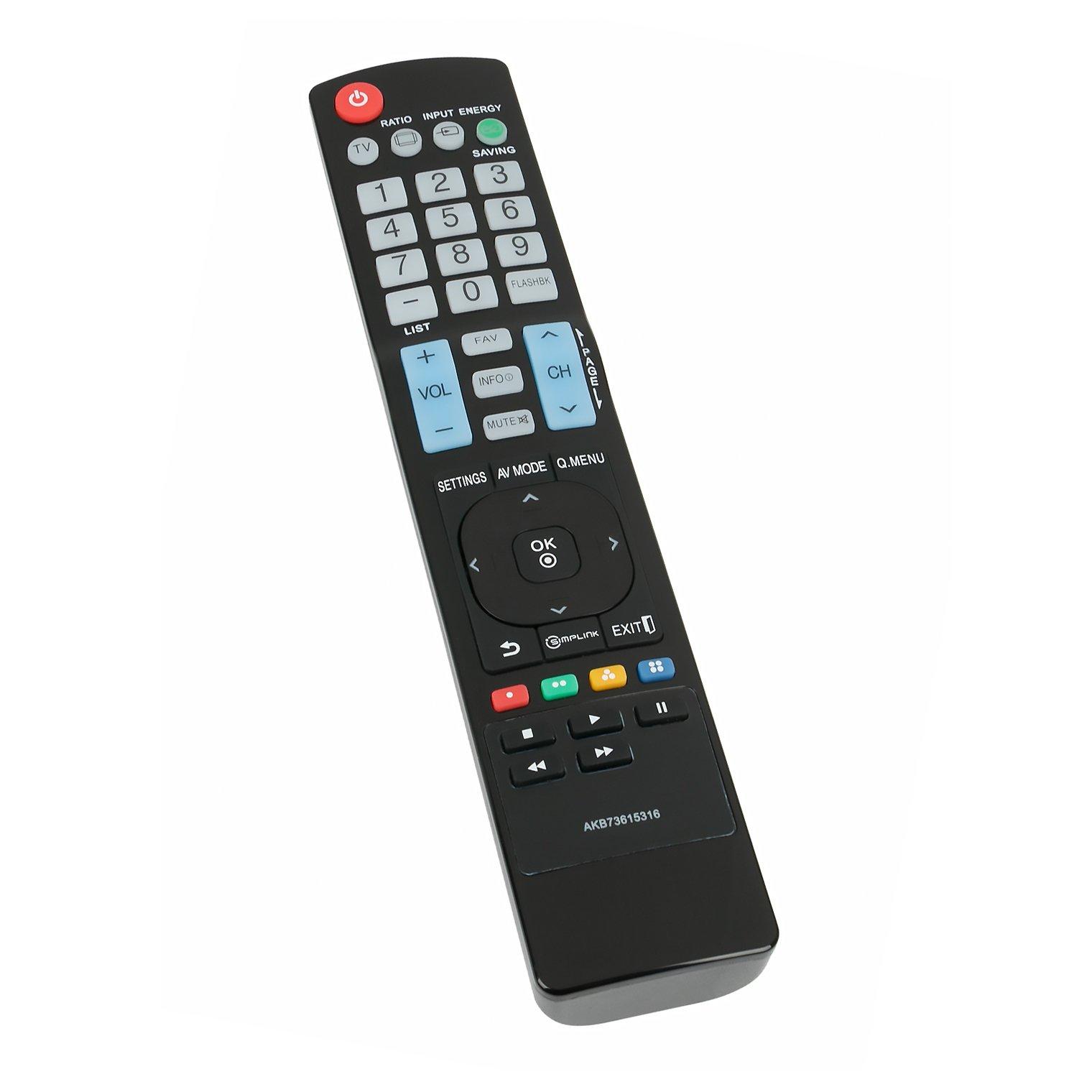 Control Remoto AKB73615316 LG Plasma TV 32LS5600 37LS5600...