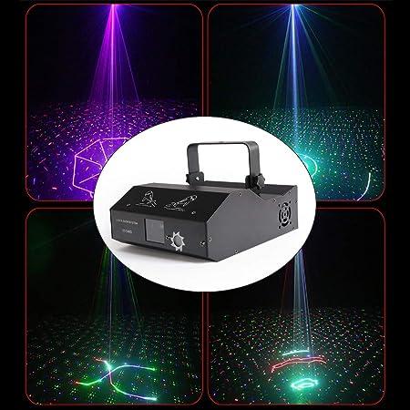Disco luces estroboscópicas, sonido activado enciende la etapa del ...