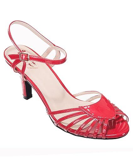 Banned - Zapatos de vestir de Material Sintético para mujer rojo rojo   Amazon.es  Zapatos y complementos 145956370d05