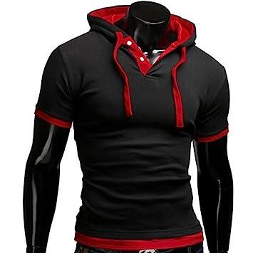Chándal de hombres Camisas hombre de Talla grande Camisetas casuales Sudadera con capucha de moda del